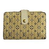 (ルイヴィトン) LOUIS VUITTON 二つ折り財布 モノグラムミニ クロワゼット ブルー M95659