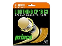 Prince(プリンス) 硬式テニス ガット ライトニング XP 7JJ001 ゴールド(067)