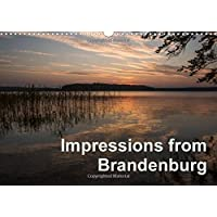Impressions from Brandenburg: Images of Places in Brandenburg, Germany (Calvendo Places)