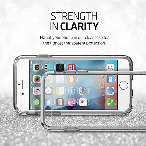 『【Spigen】iPhone6S ケース / iPhone6 ケース ウルトラ・ハイブリッド 米軍MIL規格取得 (スペース・クリスタル SGP11599)』の2枚目の画像