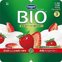 [冷蔵] ダノン ビオ 完熟ストロベリー 75×4カップ