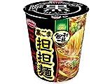 エースコック タテ型 飲み干す一杯 BLACK 黒ごま担担麺 68g