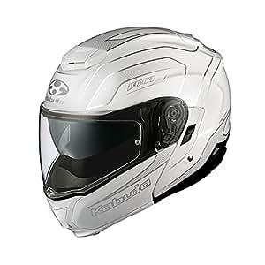 オージーケーカブト(OGK KABUTO) バイクヘルメット システム IBUKI ENVOY (エンヴォイ) パールホワイト M (頭囲 57cm~58cm未満)