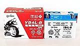 ジャパン GSユアサ バッテリー YB4L-B (GY-C) 12Vバイク用 開放式 液入り 充電済み バッテリー 【BSMオリジナル】