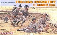 Dragon 1: 35イタリア歩兵エルエル・アラメイン1942プラスチック図キット# 6391
