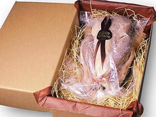 ホロホロ鳥 丸鶏 一羽 燻製(約1.1kg)国産 岩手県産 とり肉 鶏肉 ほろほろ鳥 石黒農場 生産者直送 ホロホロチョウ薫製