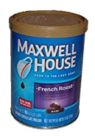 Maxwell House French RoastコーヒーDiversion CanセーフStashボックスメタル貯金箱