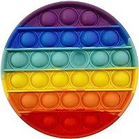 Disuozn スクイーズ玩具 プッシュポップ フィジェットおもちゃ プッシュポップポップ バブル感覚 減圧グッズ スト…