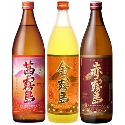 霧島酒造 数量限定飲み比べセットA【茜霧島・金霧島・赤霧島】
