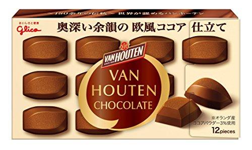 江崎グリコ バンホーテンチョコレート 53g×10個
