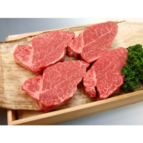 厳選 【 黒毛和牛 雌 牛 限定 】 ギフト用 極上 ヒレ ステーキ 150g 3枚 【木箱詰め】