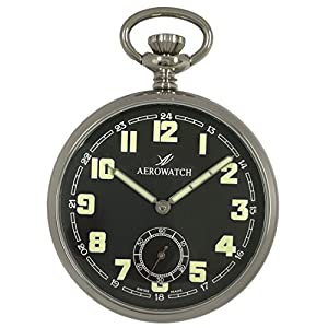[アエロウォッチ]AEROWATCH 懐中時計 手巻き スモールセコンド SWISS MADE 50616 AA06 【正規輸入品】