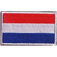 Netherlands Flag Patch Embroidered Military Tactical Flag Patches