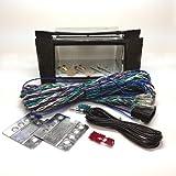 AVC BENZ Eクラス(W211) 純正DVDナビ装着車用 2DIN取付KIT (バースアイカラーパネル/ロングハーネス)
