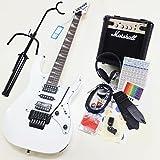 エレキギター 初心者セット Ibanez アイバニーズ RG350DXZ WH マーシャルアンプ付13点セット