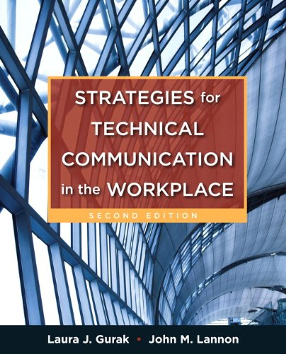 Download Strategies for Technical Communication in the Workplace 0205245528