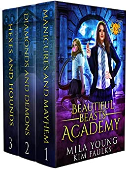 Beautiful Beasts Academy Boxed Set: Supernatural Academy Reverse Harem Book 1-3 by [Faulks, Kim, Young, Mila]