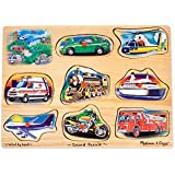 Melissa & Doug Vehicle Sound Puzzle