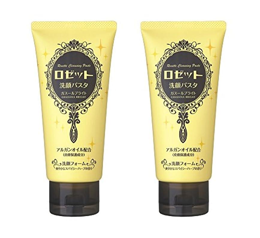 メリー防止持続するロゼット洗顔パスタ ガスールブライト 2個パック (120g×2個)