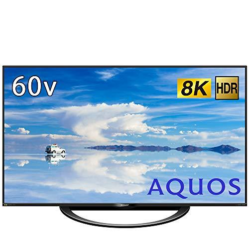 シャープ 60V型 液晶 テレビ AQUOS 8T-C60AX1 8K チューナー内蔵 N-Blackパネル 8K倍速液晶 2018年モデル