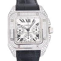 カルティエ Cartier サントス 100 クロノ WM500651 中古 腕時計 メンズ