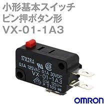 オムロン(OMRON) VX-01-1A3 形VX 小形基本スイッチ (ピン押ボタン形) NN