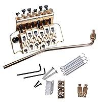 Perfeclan ダブルトレモロブリッジ テールピース エレキギター用 楽器アクセサリー