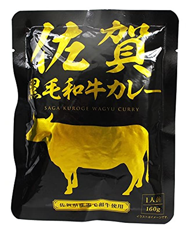 雪の癒す施設響 佐賀黒毛和牛カレー 160g×5袋