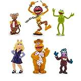 ディズニー (Disney) USディズニーストア公式 正規品  Muppets Figure Play Set ザ・マペッツ マペット カーミット ミス・ピギー プレイセット フィギュア 6点セット [並行輸入品]