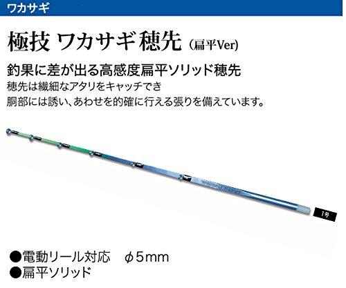 プロトラスト 極技 ワカサギ 替え穂先HS(扁平) 1-30cm