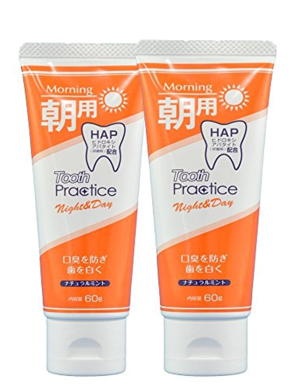 セットアップスクワイアストレスの多いトゥースプラクティス ナイト&デイ Tooth Practice Night&Day 2本セット 60g×2 (昼用)