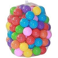 Gzq 100個カラフルなボールソフトプラスチック水プールOcean WaveボールBaby Funny Pitおもちゃアウトドア楽しいスポーツ