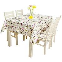 テーブルクロス ヨーロッパの牧歌的な小さな新鮮な綿布のテーブルクロス漫画の長方形 ( サイズ さいず : 140*200cm )
