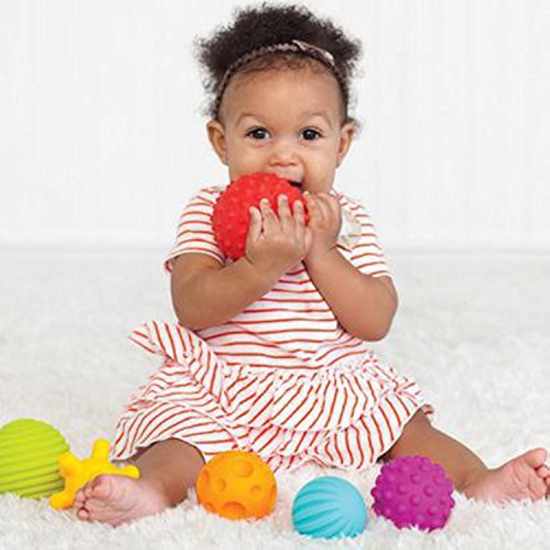 6 Pcs Texturedマルチボールセット開発赤ちゃんの触覚Sensesおもちゃベビータッチ手ボールおもちゃベビートレーニングボールマッサージソフトボール