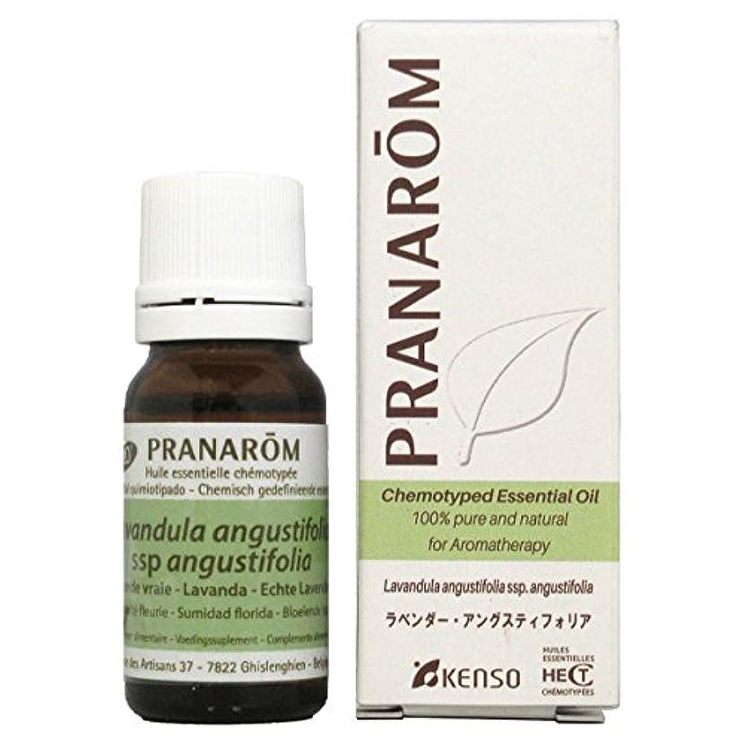 ポスト印象派よく話されるモックプラナロム ラベンダーアングスティフォリア 10ml (PRANAROM ケモタイプ精油)