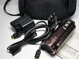 SONY HDビデオカメラ Handycam HDR-CX480 ボルドーブラウン 光学30倍 HDR-CX480-T