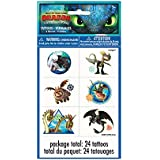 How to Train Your Dragon Party Tattoo Sheets, 24 Ct.
