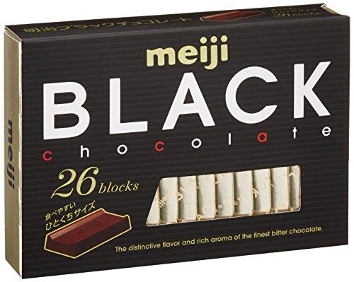 『明治 ブラックチョコレートBOX 120g(26枚入り)×6個』のトップ画像
