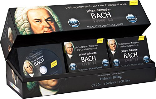 Johann Sebastian Bach, Helmuth Rilling : Complete Bach Set 2010 - Special Edition (172 CDs & CDR)