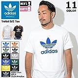 [アディダス] adidas Tシャツ 半袖 メンズ トレフォイル オリジナルス サイズL ホワイト/ブラック