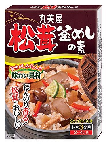 丸美屋食品工業 松茸釜めしの素 140g ×10個