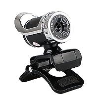 リンクスタイルUSB 2.012メガピクセルのHDカメラWeb Camマイク付きクリップ式360度デスクトップSkypeコンピュータPCラップトップ