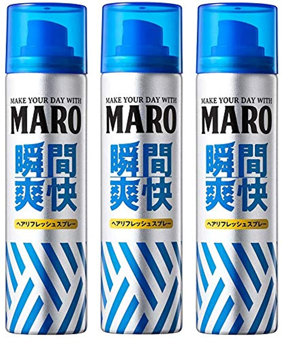 引用固執エネルギー【まとめ買い】MARO ドライシャンプー 40g×3個