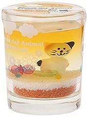 ノルコーポレーション 芳香剤 サニーデイアニマル フレグランスジェル ネコ ジューシーミックスの香り OA-SAG-1-5
