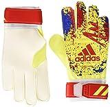 adidas(アディダス) サッカー キーパーグローブ クラシック トレーニング ソーラーイエロー/アクティブレッドS19/フットボールブルー(DT8746) 7- FTT25