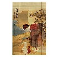 JIANFEI 竹ブラインド家の装飾 和風 アンチサン 6色 、12サイズ カスタマイズ可能 (色 : 2#, サイズ さいず : 80x180cm)