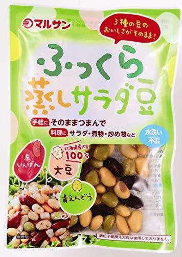 マルサン ふっくら蒸しサラダ大豆 80g×10個