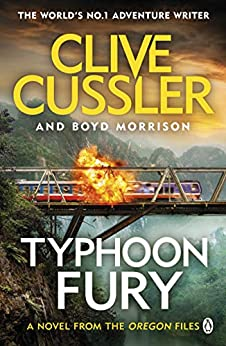 Typhoon Fury: Oregon Files #12 (The Oregon Files) by [Cussler, Clive, Morrison, Boyd]