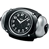 SEIKO CLOCK(セイコークロック) RAIDEN(ライデン)大音量目覚まし時計 クオーツ 黒メタリック塗装 NR438K