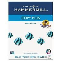 Hammermill Plus MPコピー用紙、レターサイズ用紙、20kg、500シートあたりReam, Case of 10Reams